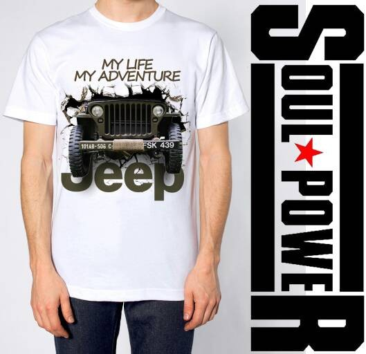 Kaos 3d jeep offroad 2 original soulpowerstyle harga ... 0133bb8e79
