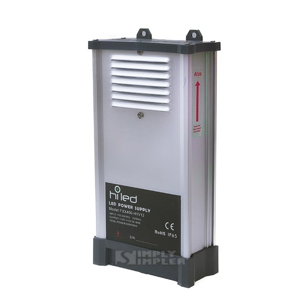 harga Hiled rain proof power supply 12v dc 33a - high quality Tokopedia.com