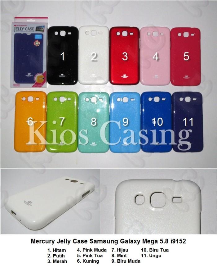 Samsung Galaxy Mega 5.8 i9152 - Mercury Jelly Case Softshell Silikon