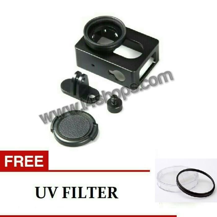 harga Aluminium case / hard case xiaomi yi bonus uv filter Tokopedia.com