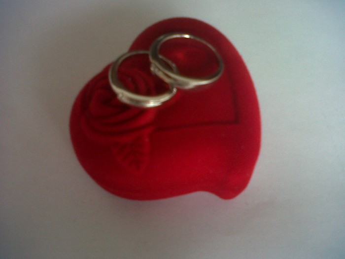 Jual Kotak Cincin Pasangan Warna Merah Kota Medan Cincin Pasangan Gs Tokopedia