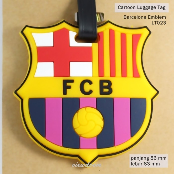 Foto Produk LUGGAGE TAG BARCELONA dari Flashdisk Qflash
