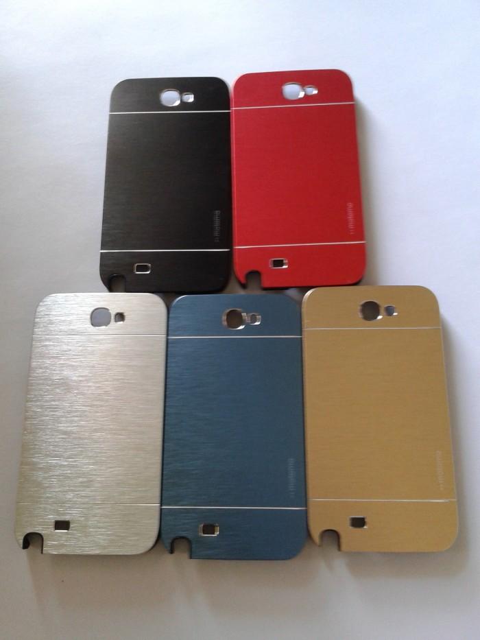 newest 7e597 824a8 Jual Hardcase Samsung Galaxy Note 2 N7100 Motomo Metal Case Aluminium /Case  - Kota Bandung - Aksesoris Hp dan Tablet | Tokopedia