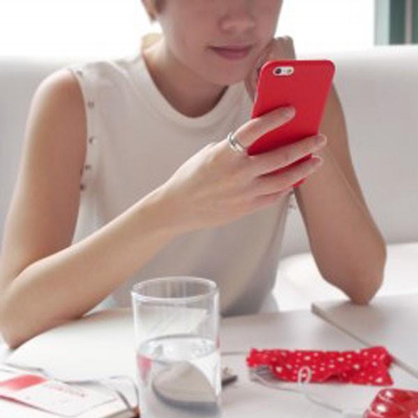 Monocozzi Lucid Slim Case for iPhone 6s Plus Red