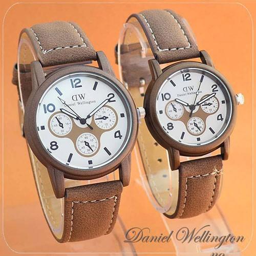 Foto Produk Jam Tangan DW Couple Pria Wanita Premium garansi  BestInClass dari barla store