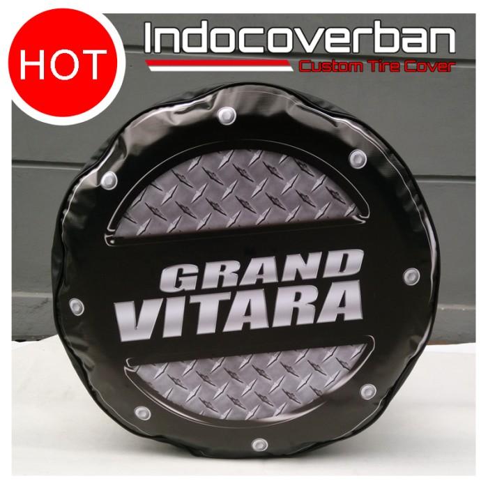 harga Cover ban / sarung ban serep mobil suzuki grand vitara bordes hitam Tokopedia.com