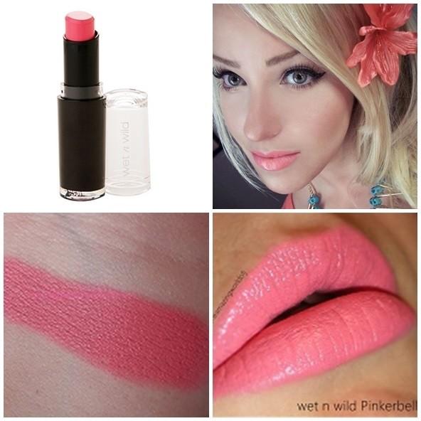 wet n wild megalast lipstick pinkerbell