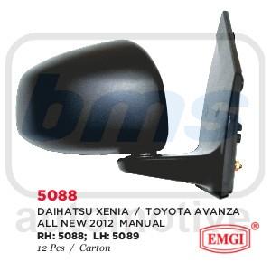 harga Spion emgi daihatsu all new xenia / avanza 2012 hitam manual lh Tokopedia.com
