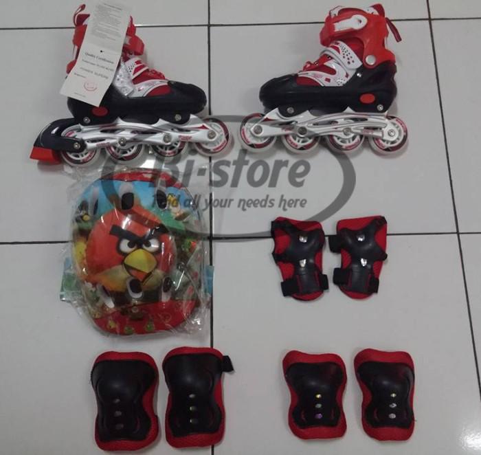 Sepatu roda + dekker + helm inline superb size s m l harga murah ... 62a63b743f