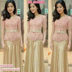 Jual Model Baju Kebaya Kebaya Modern Kebaya Maxi Setelan Kebaya B 1658 Jakarta Pusat Teen Blueberry Tokopedia