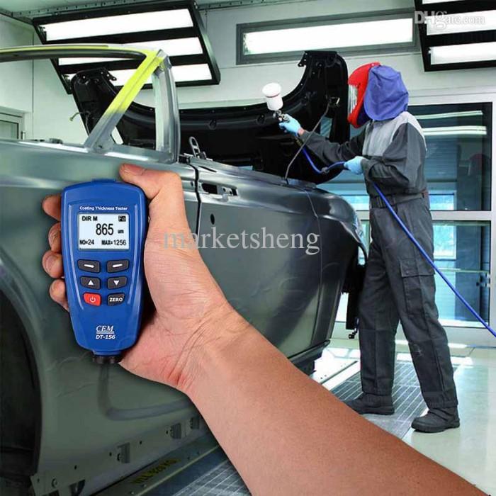 harga Alat ukur ketebalan cat - paint coating thickness gauge cem dt156 Tokopedia.com