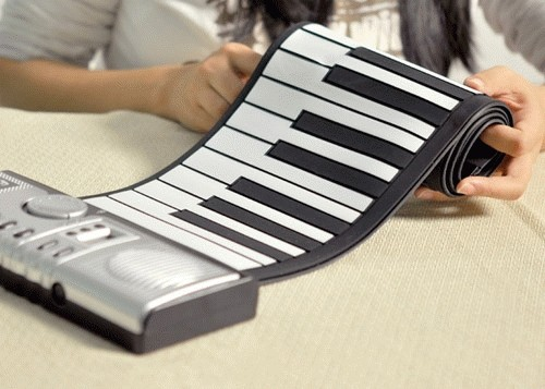 harga Flexible Roll Up Synthesizer Keyboard Piano With Soft Keys Tokopedia.com