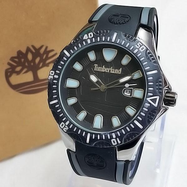 harga Jam tangan pria / cowok timberland body black - rubber black Tokopedia.com