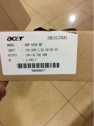 harga Adaptor acer 19v 4.74a original Tokopedia.com