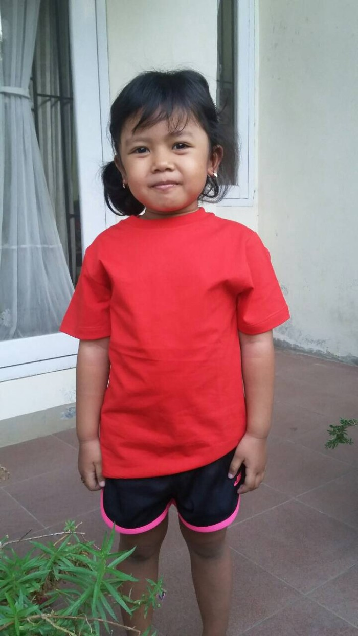 Jual Kaos Polos Anak Plain Red Bootleg Kids Clothing Tokopedia