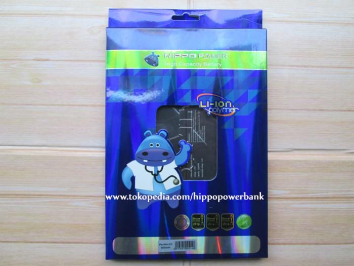harga Hippo baterai ipad mini 2 / ipad mini 3 8500 mah Tokopedia.com