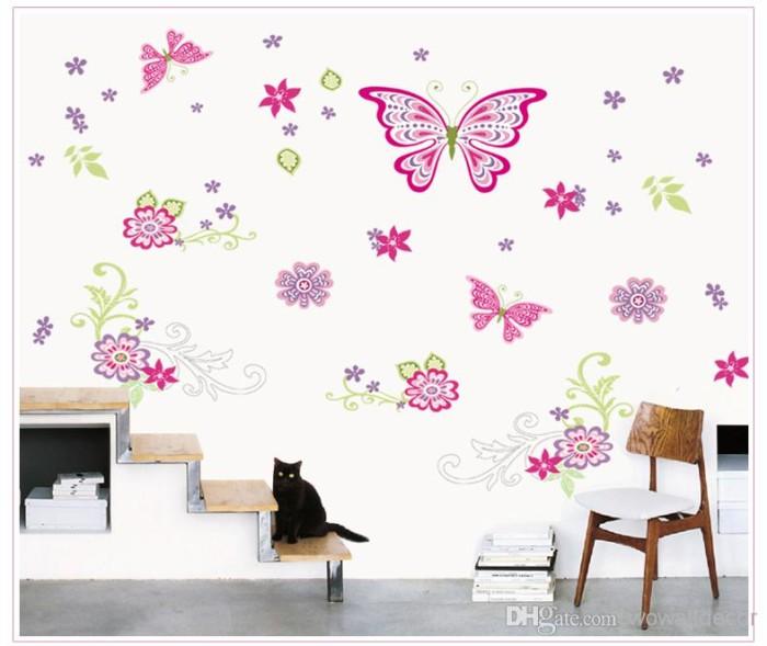 jual wall sticker butterfly 60 x 90 murah surabaya - mi surabaya