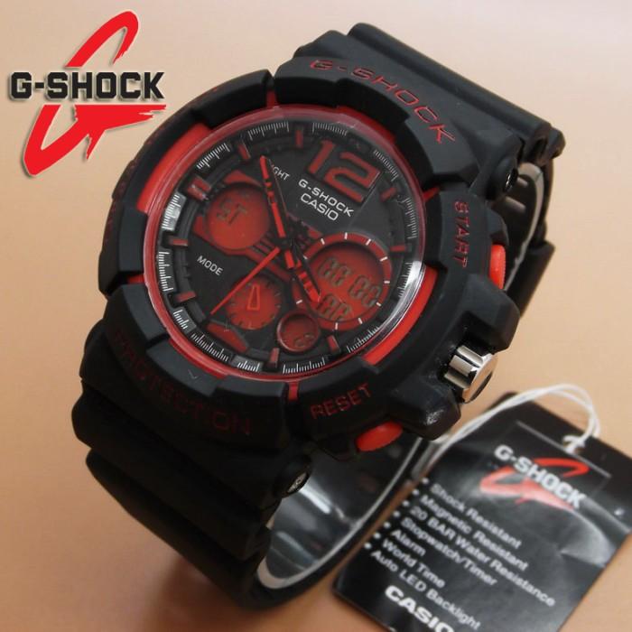 Jam Tangan Casio G-Shock GAC-110 (Black Red)