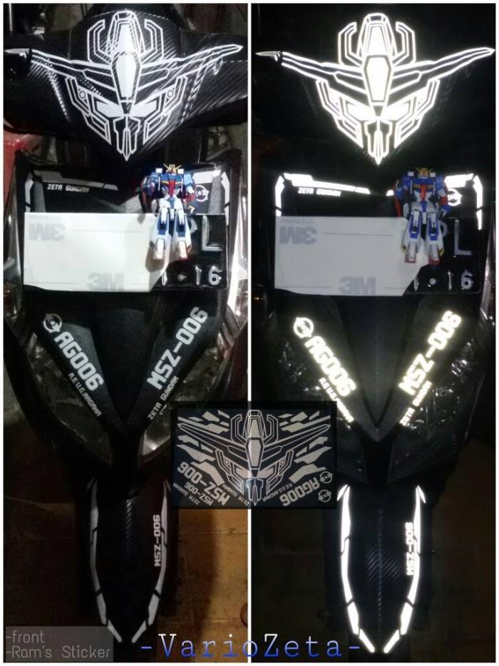 Sticker Motor Zeta Gundam