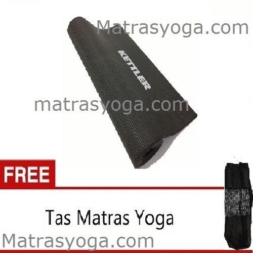 ... Anekaimportdotcom Matras Yoga Kettler Asli 6MM FREE YOGA MAT BAG TAS