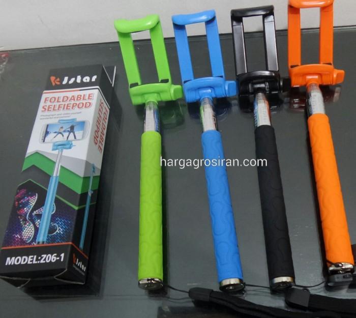 harga Tongsis monopod / tongkat narsis + holder phone original kjstar Tokopedia.com
