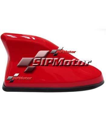 Foto Produk Antena Mobil Sirip Hiu Merah Hybrid JSRacing Fungsional Made in Japan dari SIPMotor