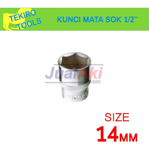 harga Tekiro 14mm 1/2  - mata kunci sok (socket wrench) Tokopedia.com
