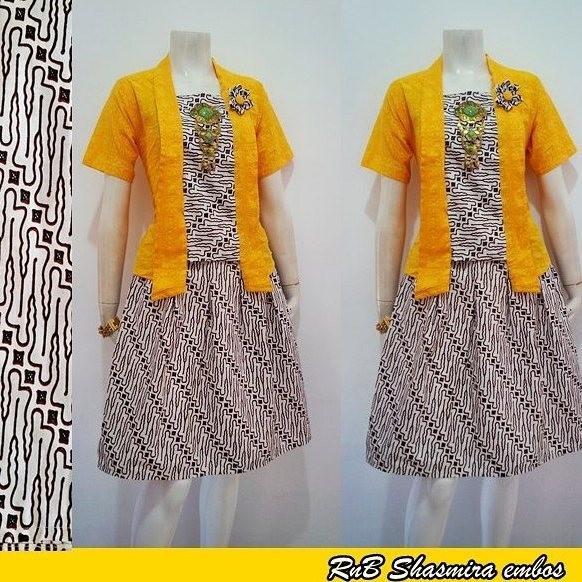 Foto Desain Baju Batik Wanita - Inspirasi Desain Menarik