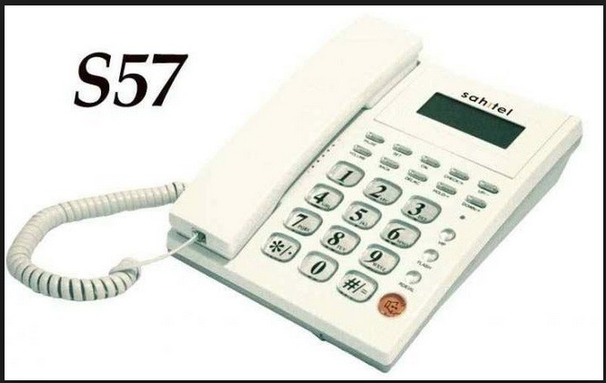 Foto Produk Sahitel Single Line Telephone S57 Telepon Kabel dari Barang Loteng