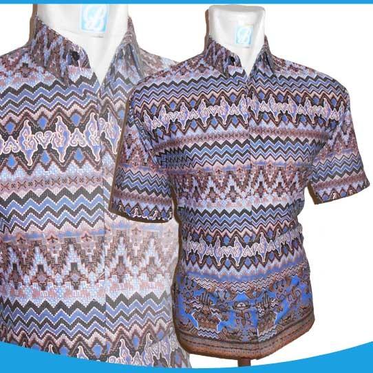 Jual 0324 16 Baju Batik Mega Mendung Asmat Top Batik Tokopedia