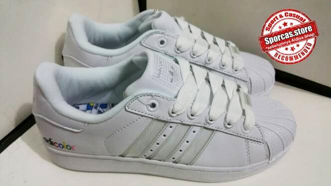 buy popular fd3f0 bbc70 Jual ADIDAS TERBARU !! Sepatu Casual | Adidas Adicolor White Sneakers -  Kota Bandung - Aldiva-Shop | Tokopedia