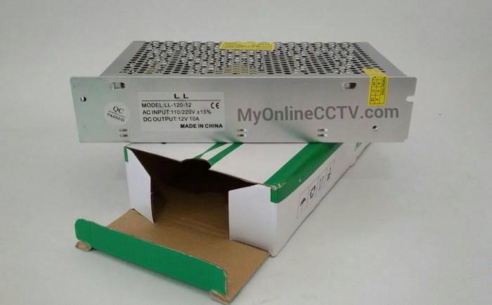 harga Adaptor cctv power suply 12 volt 10 ampere adaftor 10a 12v Tokopedia.com