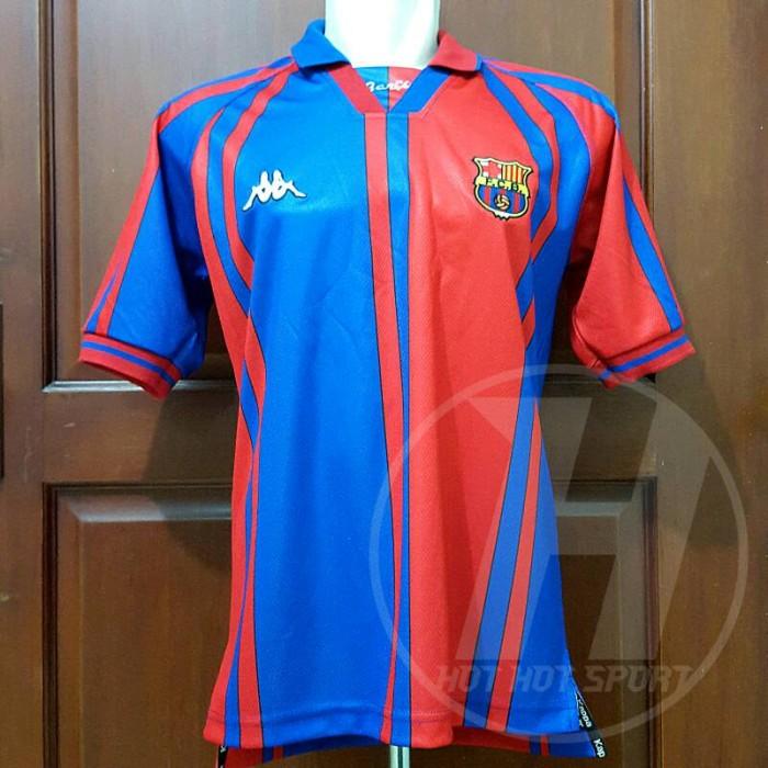 save off 925d1 77261 Jual Jersey Bola Retro Barcelona Home 1997/1998 Spider - DKI Jakarta - Hot  Hot Sport | Tokopedia