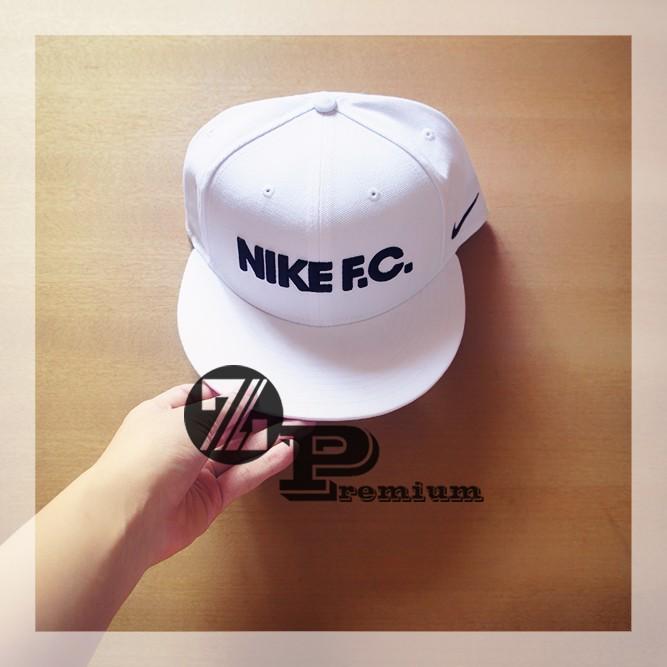 shopping topi snapback nike fc warna putih white original e23c4 7c5f1 6b78cf9b7a22