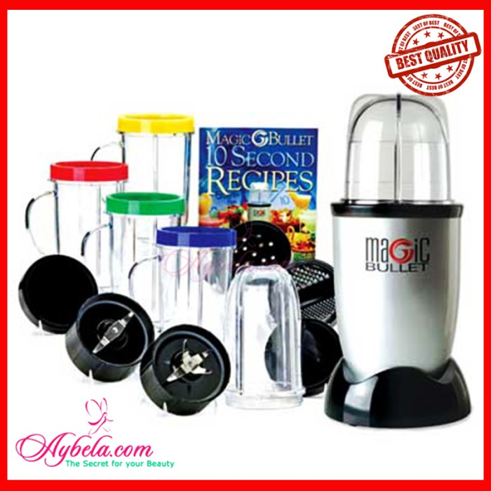 Magic Bullet Blender Juicer Maker Machine Kitchen Appliances Small 11 Piece Set