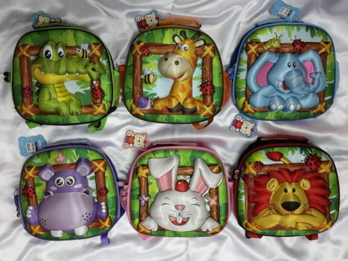 harga Tas ransel anak karakter binatang 3d - little v Tokopedia.com