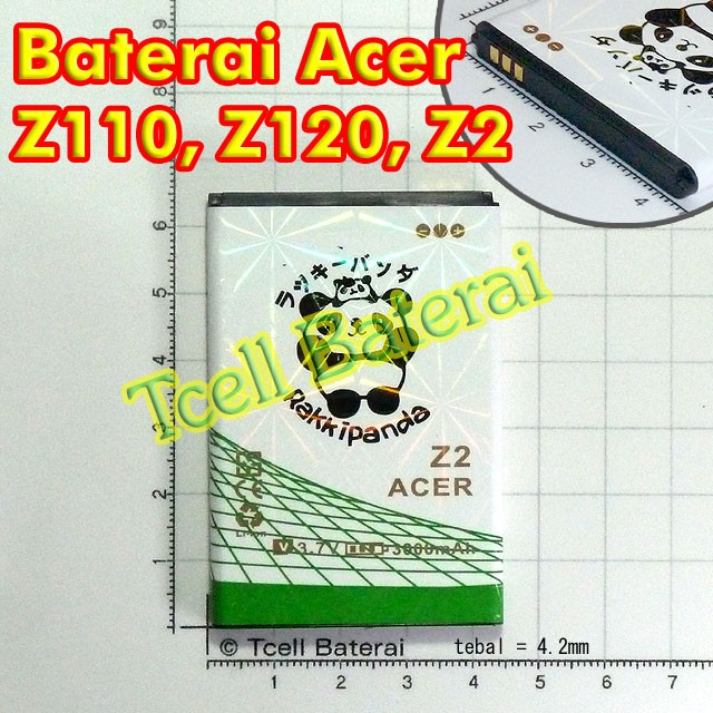 Baterai Acer Liquid Z110 Z120 Z2