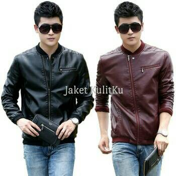harga Jaket kulit asli pria japan style/blazer kulit asli casual Tokopedia.com