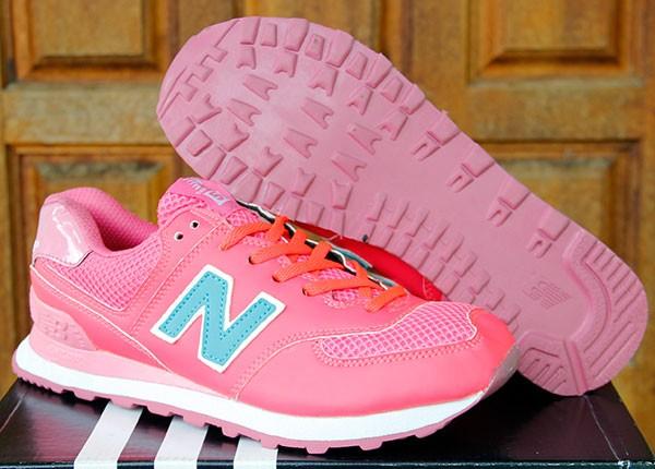 Jual Sepatu Running Olahraga Wanita Senam New Balance 574 Women Pink ... 7fe43c6170