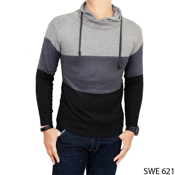 Sweater Keren Distro Rajut Kombinasi SWE 621