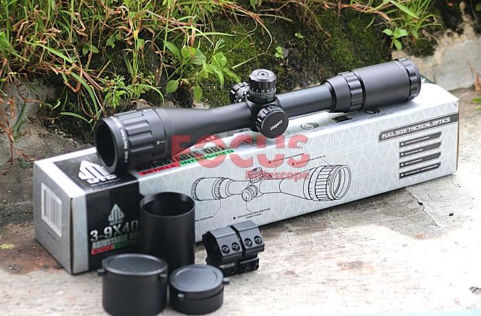 Jual riflescope telescope scope utg leapers 3 9x40 aoe new