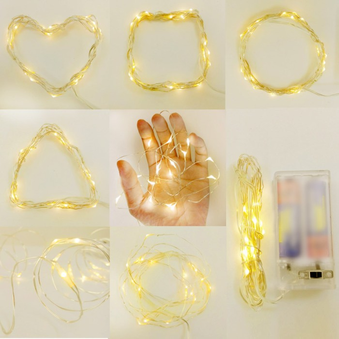 first rate e5f20 fe1d6 Jual Micro Cable LED Light - Fairy Light - String Light - Copper Light 2,3  - Kota Surabaya - Cotton Light Craft | Tokopedia