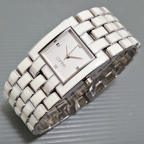Jam Tangan Wanita Esprit Mat Silver