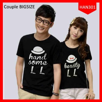 65 Gaya Baju Kaos Couple Big Size Paling Unik