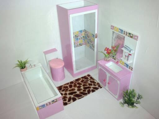 harga Barbie bathroom set #01 Tokopedia.com