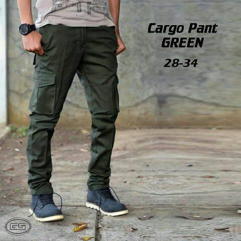 harga Celana cargo hijau army / pdl Tokopedia.com