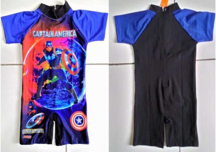 Jual Baju Renang Anak Laki Captain America Budifashion Tokopedia