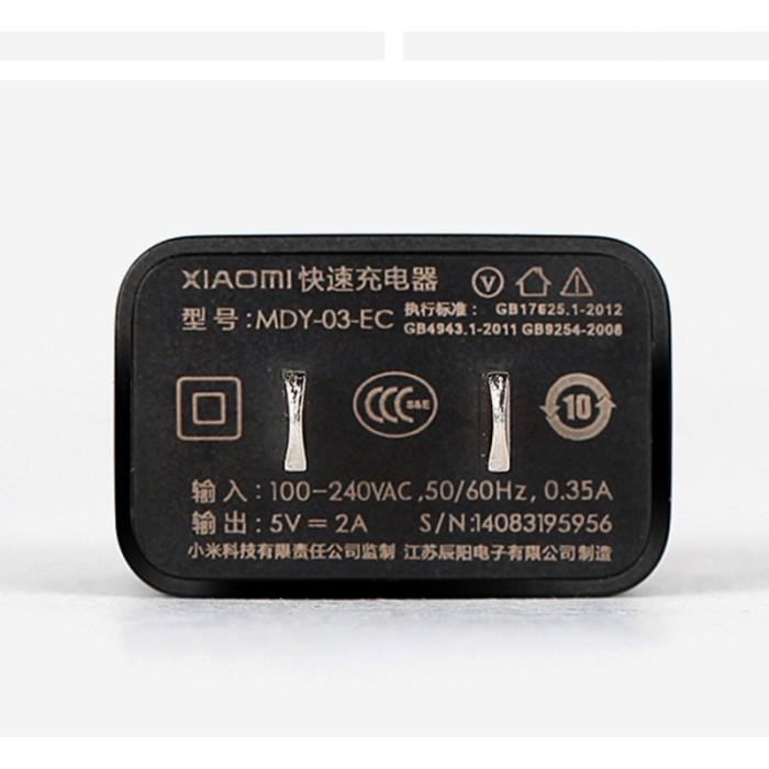 Jual Xiaomi Original Fast Charger Charging Mdy 03 Ec