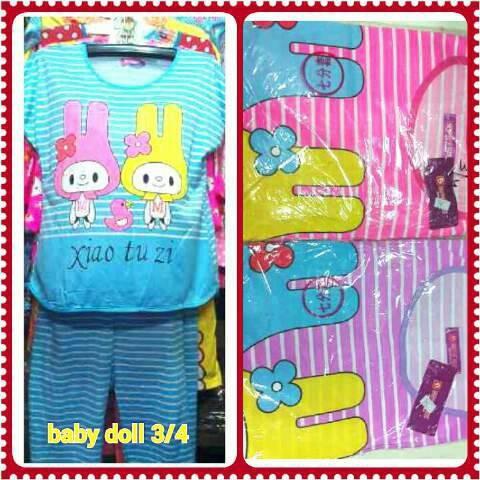 harga Baby doll 3/4 import/ baju tidur /piyama/daster Tokopedia.com