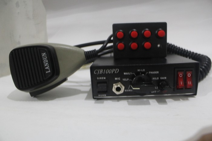 harga Sirine Landun Cjb 100 Pd Whelen Sound Jumper, Sirine Polisi Tokopedia.com